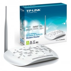TP-LINK 1-port 150Mbps Wireless N ADSL2+ Modem Router