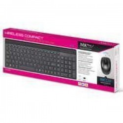 Wireless Compact Keyboard and Mouse
