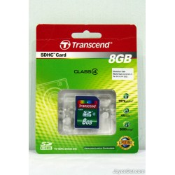 Micro SD Transcend 8 GB